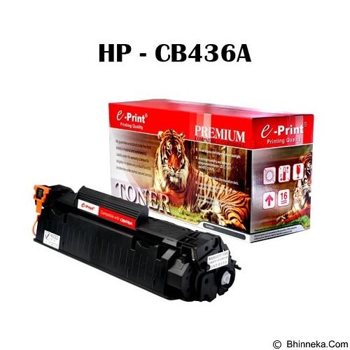 e-Print Toner HP-CB436A [TN-CAR-002] - Toner Printer Refill