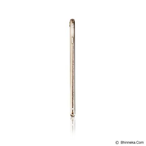 iBACKS Arc Shaped Venezia Aluminium Bumper for iPhone 6 Plus [ip60060] - Champaign Gold - Casing Handphone / Case