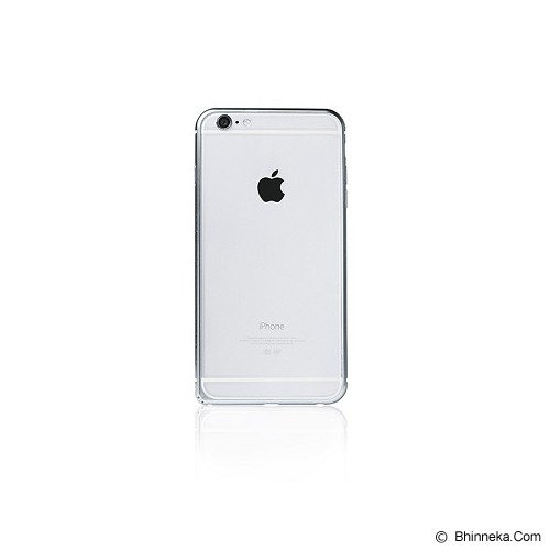 iBACKS Arc Shaped Venezia Aluminium Bumper for Apple iPhone6 [ip60008] - Silver - Casing Handphone / Case