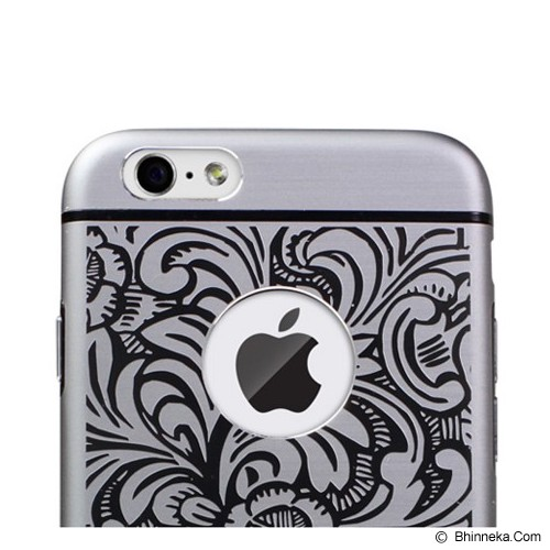 iBACKS Cameo Series Aluminium Case for Apple iPhone6 Venezia [ip60025] - Space Gray - Casing Handphone / Case