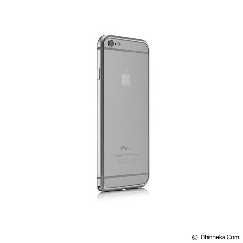 iBACKS Essence Aluminium Bumper for iPhone 6 Plus [ip60058] - Silver - Casing Handphone / Case