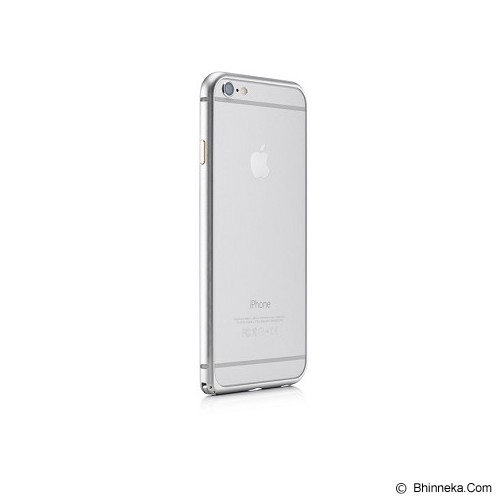 iBACKS Essence Aluminium Bumper for iPhone 6 Plus [ip60059] - Space Grey - Casing Handphone / Case