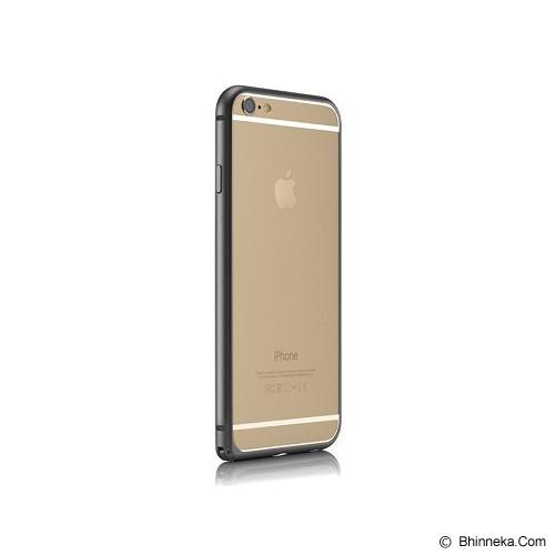 iBACKS Essence Aluminium Bumper for Apple iPhone6 [ip60006] - Black - Casing Handphone / Case
