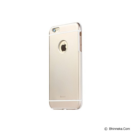 iBACKS Premium Aluminium Case for iPhone 6 Plus Essence [ip60082] - Champaign Gold - Casing Handphone / Case