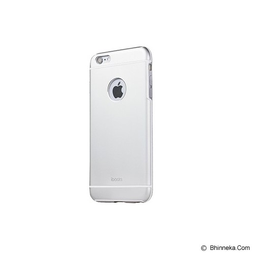 iBACKS Premium Aluminium Case for iPhone 6 Plus Essence [ip60083] - Silver - Casing Handphone / Case