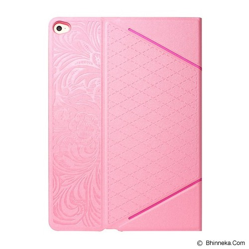 iBACKS VV Structure Leather Case for Apple iPad Mini 3 Venezia [ip60077] - Pink - Casing Tablet / Case