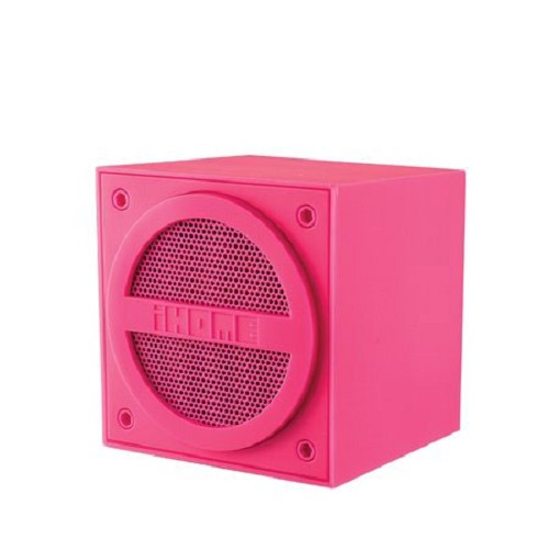 iHome Bluetooth / Airplay Speaker iBT16PE - Pink - Speaker Bluetooth & Wireless