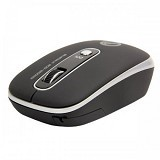 CLIPTEC Uni-Retractable BlueOptic Wired Mouse [RZS979] - Silver - Mouse Mobile