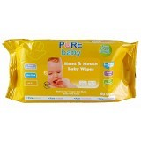 PURE BABY Hand & Mouth Wipes Orange Oil 60