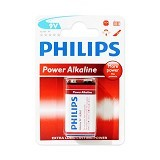 PHILIPS Power Alkaline 9V [6LR61P1B/97] - Battery and Rechargeable