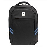 TRAVEL TIME Tas Ransel [3011-06] - Black - Notebook Backpack