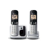 PANASONIC Digital Cordless Phone [KX-TGC212] - Silver - Wireless Phone