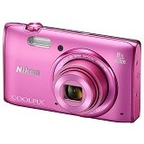 NIKON Coolpix S5300 - Pink - Camera Pocket / Point and Shot