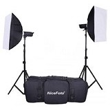 NICEFOTO Paket Studio GA-200 Kits - Lighting System Kit
