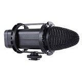 BOYA Compact Stereo Video Mic [BY-V02] - Camera and Video Microphone