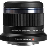 OLYMPUS M.Zuiko Digital ED 45mm F/1.8 - Camera Mirrorless Lens