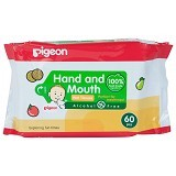 PIGEON Wipes Hand and Mouth 60
