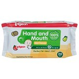 PIGEON Wipes Hand and Mouth 20