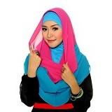 DSTYLEHIJAB 2 Tone Shoodie - Pink Tosca - Hijab