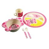 BAMBOO STUDIO Animals Mealtime Set Betty the Butterfly [BS-betty]