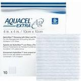 CONVATEC Aquacel Silver (Ag) Extra Dressing 10x10 cm [420676] - Plester Medis