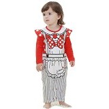 FIRST MOVEMENT Jumpsuit Koki Size 6-9M - Red - Baju Bepergian/Pesta Bayi dan Anak