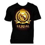 T-SHIRT GLORY Kaos 3D Real Madrid 3D MDR Anak 1