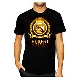 T-SHIRT GLORY Kaos 3D Real Madrid 3D MDR Size XL - Kaos Pria