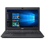 ACER Aspire ES1-420 (AMD E1-2500 - Win 10) - Black - Notebook / Laptop Consumer AMD Dual Core