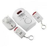 UNIQTRO Alarm Rumah Sensor Gerak Remote Control - Alarm