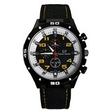 GRAND TOURING Sport Men For Men [GT04] - Dial Yellow Number - Jam Tangan Pria Fashion
