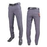 GUDANG FASHION Celana Formal Pria Size 28 [CLN 357-28] - Abu-abu - Celana Panjang Pria