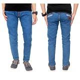 GUDANG FASHION Celana Panjang Jeans Size 31 [CLN 595-31] - Biru Muda