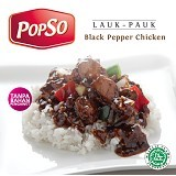 POPSO Chicken Black Pepper Paket Isi 5 1000gr - Box & Kalengan Unggas