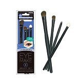 LUCKY TRENDY MAKEL Eye Make Brush Set [4P] - Smokey Eyes - Kuas Make-Up