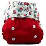 PEMPEM Snap + Inser Litty Motif Kendaraan - Cloth Diapers / Popok Kain