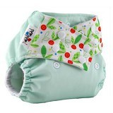PEMPEM Snap + Inser Microfiber Motif Cherry - Cloth Diapers / Popok Kain