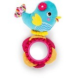 BRIGHT STARS Bright Starts Pretty in Tweet Reflection [52030] - Pink - Mainan Gantung / Stroller Toy