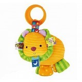 BRIGHT STARS Taggies Plus Lion [9197-l] - Mainan Gantung / Stroller Toy