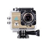 PUWEI Action Camera 4K Ultra-HD [MK4] - Camcorder / Handycam Flash Memory