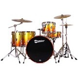 PREMIER Maple Shell Drum Kit XPK Series [ROCK KIT] - Sunburst Sparkle Lacquer - Drum Kit