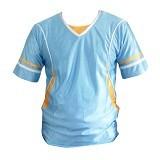 ALL SPORT Baju Olahraga Size XL [BB 001 BK] - Biru Muda - Jersey Pria