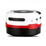 HF-Q7 Speaker Bluetooth Lentera Lipat - White/Red - Speaker Bluetooth & Wireless