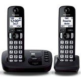 PANASONIC Cordless Phones [KX-TGD222] - Black