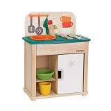 PLAN TOYS Sink & Fridge [PT3606] - Mainan Masak Masakan / Kitchen Toys