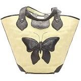 SMESCO Tas Handle Kupu kupu [088-017342] - Cream - Tas Tangan Wanita
