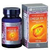 WELLNESS Omega RX-3 60 Softgels - Suplement Otak