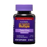 NATROL My Favorite Multiple Take One 60 Tablets - Suplement Peningkat Metabolisme Tubuh