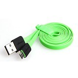 VIVAN Micro USB Cable [YM100] - Green (Merchant) - Cable / Connector Usb