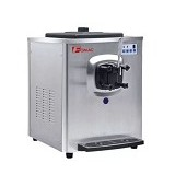 FOMAC Soft Ice Cream [BQ108] - Silver - Ice Cream Maker